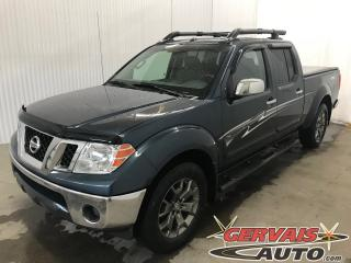 Used 2014 Nissan Frontier Pro-4x 4x4 Crew Gps for sale in Trois-Rivières, QC