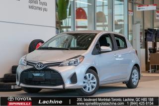 Used 2017 Toyota Yaris LE IMPECCABLE! AIR CLIMATISÉ! BLUETOOTH! BAS KILOMÉTRAGE! SUPER PRIX! FAITES VITE! for sale in Lachine, QC