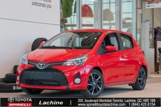 Used 2016 Toyota Yaris SE IMPECCABLE! MAGS! BLUETOOTH! AIR CLIMATISÉ! BAS KILOMÉTRAGE! SUPER PRIX! FAITES VITE! for sale in Lachine, QC