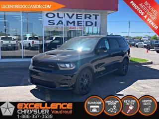 Used 2018 Dodge Durango R/T blacktop *cuir/toit/nav* for sale in Vaudreuil-Dorion, QC