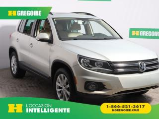 Used 2013 Volkswagen Tiguan COMFORTLINE 4Motion for sale in St-Léonard, QC