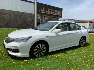 Used 2017 Honda Accord Hybrid Touring | Navigation | Backup Cam | Alloys for sale in North York, ON