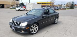 Used 2007 Mercedes-Benz C250 Leather,Sunroof,3/Y Warranty Available for sale in Toronto, ON
