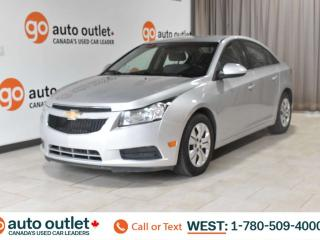 Used 2013 Chevrolet Cruze Lt, 1.4L I4, Automatic, Turbo, Fwd, Cloth seats, Bluetooth for sale in Edmonton, AB