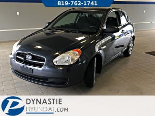 Used 2009 Hyundai Accent GL for sale in Rouyn-Noranda, QC