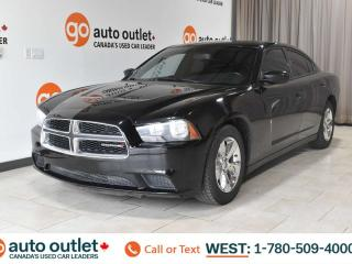 Used 2013 Dodge Charger RWD, POWER WINDOWS, STEERING WHEEL CONTROLS, CRUISE CONTROL, A/C, AM/FM RADIO for sale in Edmonton, AB