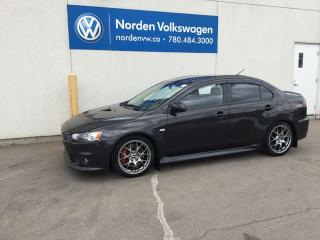 Used 2010 Mitsubishi Lancer EVOLUTION GSR AWD - 291 HP for sale in Edmonton, AB