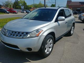 Used 2007 Nissan Murano SE for sale in North York, ON