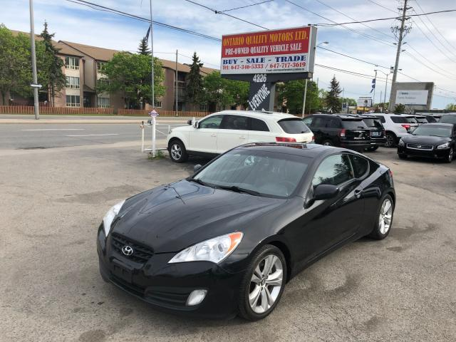 2011 Hyundai Genesis Coupe Premium,LEATHER,SUNROOF !!