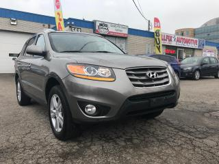 Used 2011 Hyundai Santa Fe Accident Free_One Owner_Navi_Backup Camera_Sunroof for sale in Oakville, ON