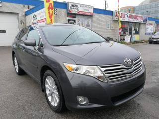 Used 2009 Toyota Venza Accident Free_2.7 Engine_AWD_Sunroof_Leather_DVD for sale in Oakville, ON