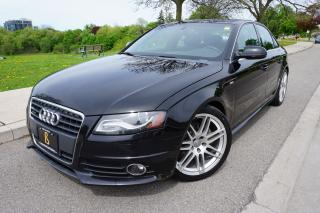 Used 2011 Audi A4 S-LINE / 1 OWNER / 6 SPD MANUAL / NO ACCIDENTS for sale in Etobicoke, ON