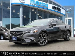 Used 2017 Mazda MAZDA6 GT |NO ACCIDENTS|SUNROOF|1.9% FINANCING AVAILABLE for sale in Mississauga, ON