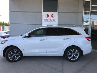 Used 2018 Kia Sorento SXL V6 for sale in Kitchener, ON