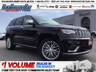 Used 2018 Jeep Grand Cherokee SUMMIT | PANO ROOF | NAV | 19 SPRK & MORE!!! for sale in Milton, ON