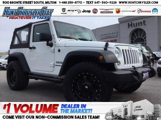 Used 2015 Jeep Wrangler SPORT | UPGRADED TIRES/RIMS | AC & MORE!!! for sale in Milton, ON