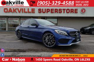 Used 2017 Mercedes-Benz C-Class AMG 43 | NAV | B/U CAM | AMG PKG | RED LEATHER for sale in Oakville, ON
