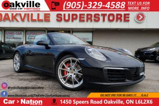 Used 2017 Porsche 911 CARRERA S CABRIOLET | NAVI | B/U CAM | CARPLAY for sale in Oakville, ON