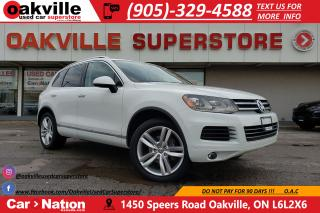 Used 2014 Volkswagen Touareg 3.0 TDI COMFORTLINE | SPORT PKG | PANOROOF | NAV for sale in Oakville, ON