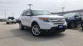 Used 2015 Ford Explorer Limited 3.5l V6 Navigation Reverse Camera for sale in Midland, ON