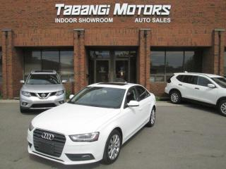 Used 2014 Audi A4 QUATTRO | LEATHER | SUNROOF | KEYLESS | CRUISE | B/T for sale in Mississauga, ON