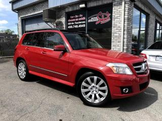 Used 2010 Mercedes-Benz GLK-Class GLK 350 4 portes 4MATIC TOIT PANORAMIQUE for sale in Longueuil, QC