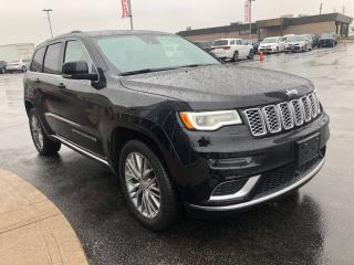 Used 2017 Jeep Grand Cherokee Summit - Pano Roof, Nav, Htd Seats, Htd Wheel, Ven for sale in Etobicoke, ON