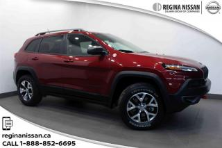 Used 2015 Jeep Cherokee 4x4 Trailhawk Only 54,000kms!!! for sale in Regina, SK