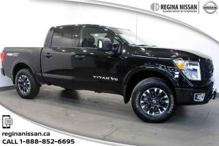 Used 2018 Nissan Titan Crew Cab PRO-4X 4X4 ONLY 10,000KMS!!! for sale in Regina, SK