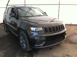 Used 2018 Jeep Grand Cherokee Overland PANORAMIC POWER SUNROOF, TRAILER TOW GROUP, ADAPTIVE CRUISE CONTROL for sale in Ottawa, ON