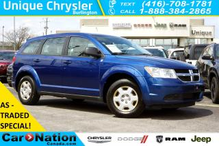 Used 2010 Dodge Journey AS-TRADED| CANADA VALUE PACKAGE| 7-SEATER for sale in Burlington, ON