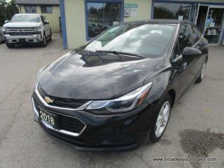 Used 2018 Chevrolet Cruze GAS SAVING LT-EDITION 5 PASSENGER 1.4L - TURBO.. POWER SUNROOF.. HEATED SEATS.. BACK-UP CAMERA.. BLUETOOTH SYSTEM.. BOSE PREMIUM AUDIO.. for sale in Bradford, ON