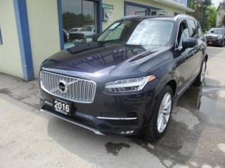Used 2016 Volvo XC90 ALL-WHEEL DRIVE T6-EDITION 7 PASSENGER 2.0L - DOHC.. BENCH & 3RD ROW.. LEATHER.. NAVIGATION.. PANORAMIC SUNROOF.. BACK-UP CAMERA.. DRIVE-MODE.. for sale in Bradford, ON