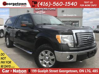 Used 2010 Ford F-150 XLT 4X4 | V8 | CHROME PKG | TOW PKG|BED CAP|6 PASS for sale in Georgetown, ON