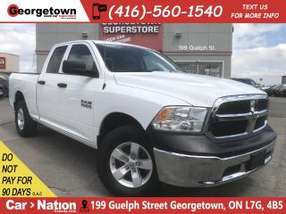 Used 2017 RAM 1500 SXT | 3.6L| 4X4 | 6'4 BOX | 35K|PWR GRP |SAT RADIO for sale in Georgetown, ON