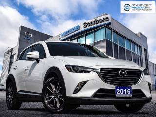 Used 2016 Mazda CX-3 GT|1 OWNER|NO ACCIDENT for sale in Scarborough, ON
