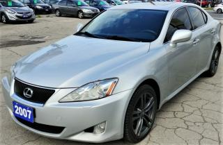 Used 2006 Lexus IS 250 AWD for sale in Hamilton, ON