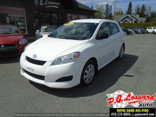 Used 2013 Toyota Matrix for sale in St-Prosper, QC