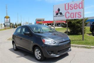 Used 2015 Mitsubishi Mirage ES *WARRANTY *NO ACCIDENTS for sale in Barrie, ON