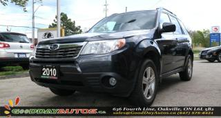 Used 2010 Subaru Forester 2.5 X Ltd|NO ACCIDENT|SUNROOF|AWD|ALLOYS for sale in Oakville, ON