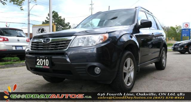 2010 Subaru Forester 2.5 X Ltd|NO ACCIDENT|SUNROOF|AWD|ALLOYS