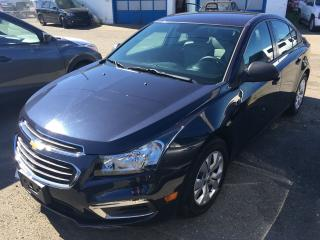 Used 2015 Chevrolet Cruze LS for sale in Campbell River, BC