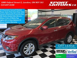 Used 2015 Nissan Rogue SV+Panoramic Roof+Power Heated Seats+Camera+ for sale in London, ON
