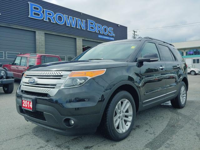 2014 Ford Explorer XLT, NAVIGATION, HTD SEATS