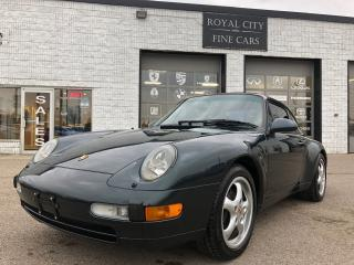 Used 1996 Porsche 911 Carrera Great Condition Sunroof Leather for sale in Guelph, ON