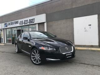 Used 2013 Jaguar XF AWD-NAVI-LEATHER-SNROOF for sale in Toronto, ON