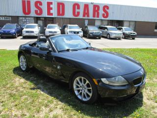Used 2006 BMW Z4 3.0i~BLACK ON BLACK~AUTO~CERTIFIED for sale in Toronto, ON