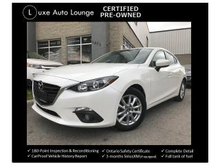 Used 2015 Mazda MAZDA3 GS - LOW KM, SUNROOF, HEATED SEATS, BACK-UP CAMERA for sale in Orleans, ON