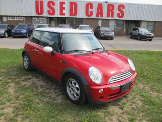 Used 2005 MINI Cooper ~LEATHER~AUTOMATIC~LOW KM'S~CERTIFIED for sale in Toronto, ON