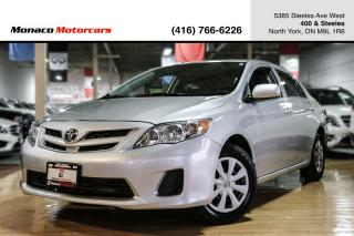 Used 2011 Toyota Corolla CE - LOW KMS|ONE OWNER|FULLY CERTIFIED for sale in North York, ON